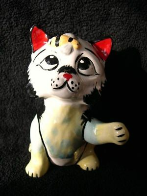Lorna Bailey Cat Gizmo With Busy Buzzy Bee Rare Collectors Piece Very Funny