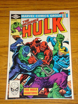 Incredible Hulk #269 Vol1 Marvel Comics March 1982