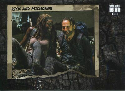 Walking Dead Road To Alexandria Better Days Chase Card BD-10 Rick and Michonne