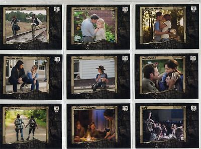 Walking Dead Road To Alexandria Complete Better Days Chase Card Set BD1-10