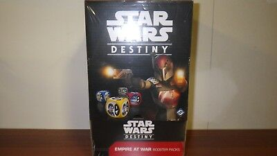 Star Wars Destiny Empire At War Factory Sealed Booster Box (36 Packs) SWD07 *