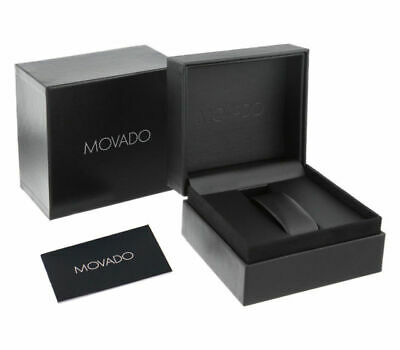 New MOVADO Watch Presentation Gift Box