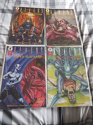 Aliens Music of the Spears Dark Horse Comics 1 -4 complete
