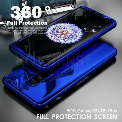 For Samsung Galaxy S9 Plus S8 Case 360 Full Cover Shockproof Slim Hybrid Hard PC