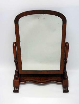 Large  Victorian Mahogany  dome top dressing table or swing mirror