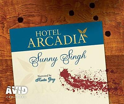 Hotel Arcadia by Sunny Singh | Audio CD Book | 9781510033719 | NEW