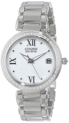 """Citizen Women's EO1100-57A """"Marne Signature"""" Stainless Steel Eco-D... SHIPS FREE"""