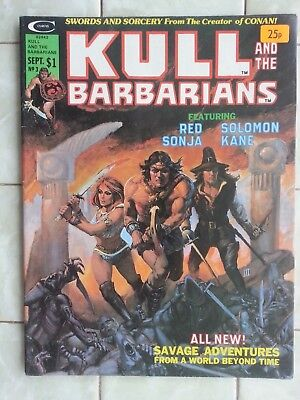 Kull and the Barbarians # 3 From Conan the Barbarian creator/Red Sonja/Sol.Kane