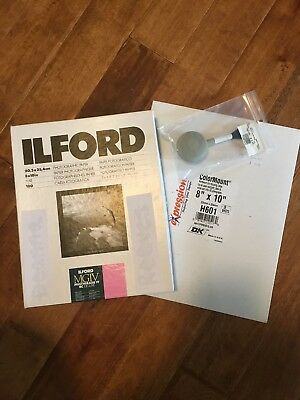 ILFORD MULTIGRADE IV RC DeLuxe - B&W negative paper resin coated pearl variable