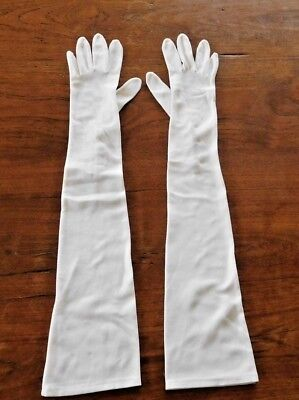 Vintage Ladies Long Gloves with Buttons