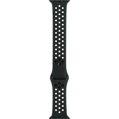 Genuine Apple - Nike Sport Band For Apple Watch 42mm - Anthracite/Black - UD