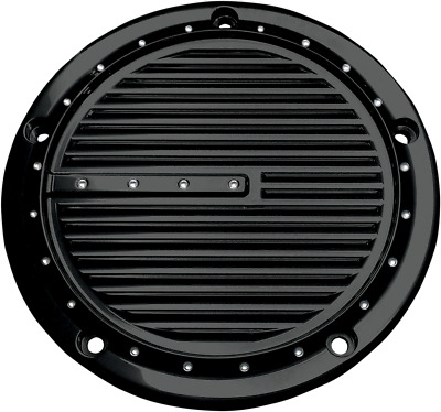 Covingtons Derby Cover Dimpled - Gloss Black Powdercoat C1073-B