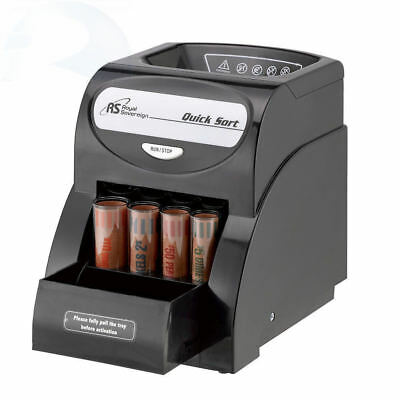Royal Sovereign Electric Coin Sorter, Patented Anti-Jam Technology coin counter
