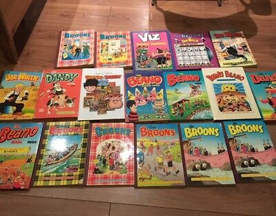 Beano, Dandy, Broons Annuals