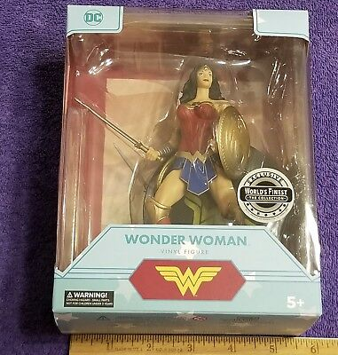 NEW 2017 DC Comics (World's Finest) Wonder Woman Vinyl Figure