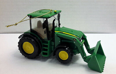 John Deere Tractor Chrismas Ornament w/Front End Loader  'Kurt S. Adler'