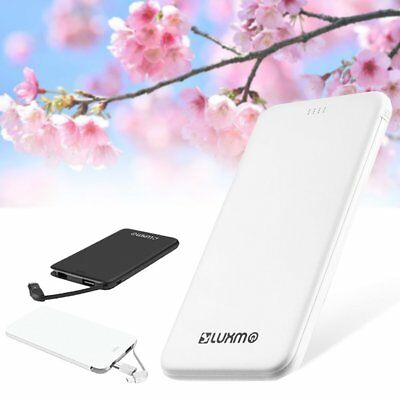 5000mAh Dual USB External Power Bank Portable LCD LED Charger for Cell Phone US