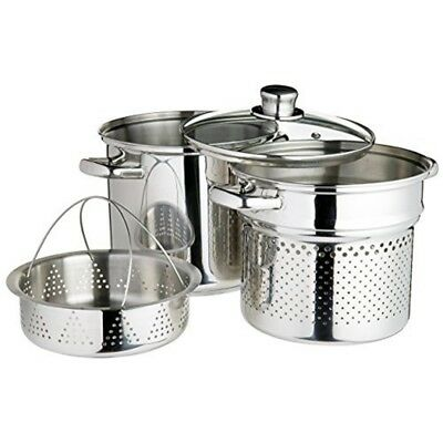Kitchencraft 7,5 L Clearview En Acier Inoxydable Multi-cuiseur - 75 Stainless