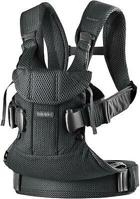 Baby Bjorn Baby Carrier One Air (Black Mesh) (BabyBjorn) Free Shipping!