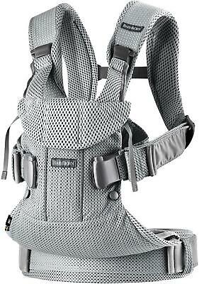 Baby Bjorn Baby Carrier One Air (Silver Mesh) (BabyBjorn) Free Shipping!