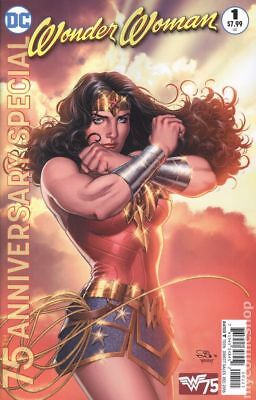 Wonder Woman 75th Anniversary Special 1B 2016 NM Stock Image