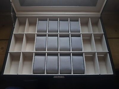 Set of 14 Grey Suede Watch Cushions Watch Pillows for Case Box Display NEW