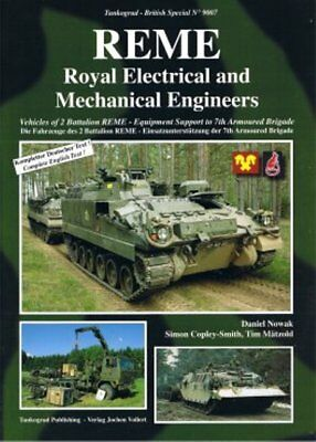 Tankograd 9007 - REME - Royal Electrical and Mechanical Engineers     New   Book