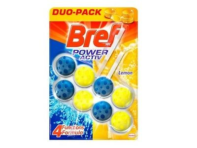 Bref WC Power Active Limón (2x50g)