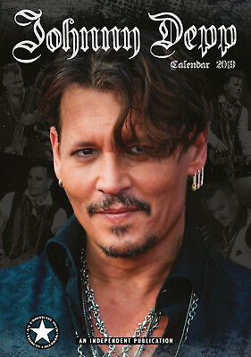 calendrier JOHNNY DEPP 2019