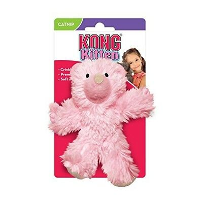 Kong Teddy Bear Catnip Toy For Kittens, Colors Vary - Kitten Cat Color Assorted