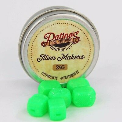 24AWG Alien Maker - Slime Green by Patino's Coil Smithing NYC