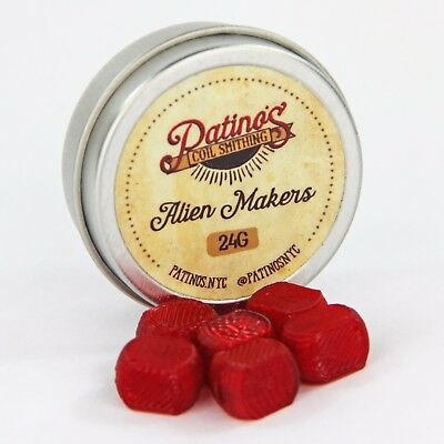 24AWG Alien Maker - Ruby Red by Patino's Coil Smithing NYC
