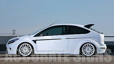 Side Stripes Graphics To Fit Ford Focus Pair Car Decals Stickers