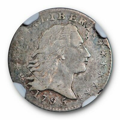 1795 Flowing Hair Half Dime H10C NGC VF 25 Very Fine Early US Type Coin