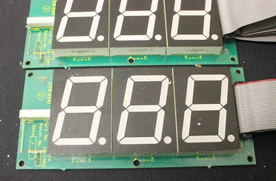 3 Digit plus sign 45mm height LED display units