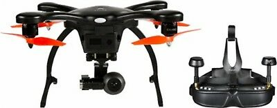 Ehang Ghost Drone VR 2.0 w/ 4K Cam & Headset for Android Black/Orange NO Battery