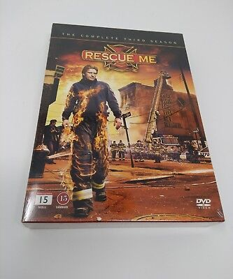 Rescue Me - The Complete Third Season DVD Box Set - Import - NEW & Sealed