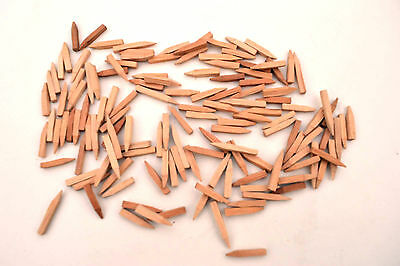 "Shoemakers 1/2"" Lemon Wooden Peg Nails For Leather Soles Heels. Cobblers Tools"
