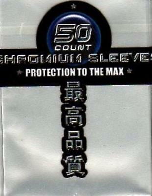 Max Protectio Card Protectio Neo Sleeves - Chromium Silver (10 Packs of 5 MINT