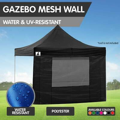 Replacement Gazebo Mesh Wall for 3x3m Popup Tent Marquee Outdoor Shade