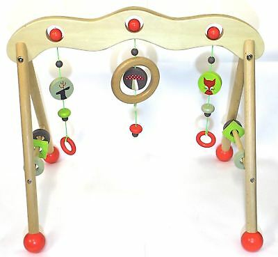 Discoveroo Baby Play Gym Woodland Adventure Baby Play Gym Play Mat Tummy Time