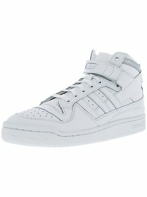 Adidas Men's Forum Mid Refined Mid-Top Leather Basketball Shoe