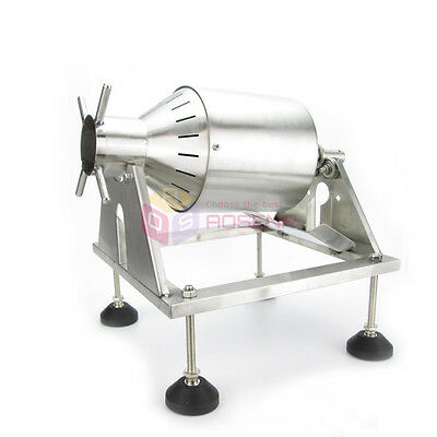 NEW Manual Stainless Steel Green Coffee Beans Roaster Machine Home Kitchen Tool