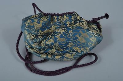 K7516: Japanese Fabric Shifuku BAG for Tea bowl Green tea tool Tea Ceremony
