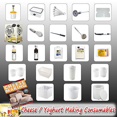 Cheese Making Cultures   Moulds   Wraps   Equipment   Consumables - Mad Millie