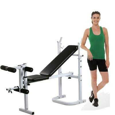 Folding Weight Bench Incline Lift Workout Training Press Home