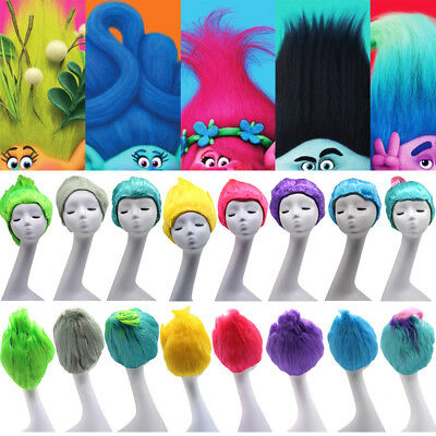 Trolls Poppy Elf/Pixie Props Hairpiece Branch Adult Kids Cosplay Wigs Hairpieces