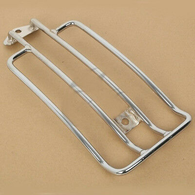 Luggage Shelf Rack for Stock Solo Seat Harley Nightster Iron 883 Sportster 883