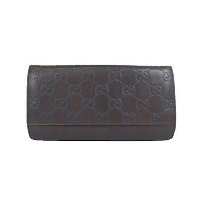 info for ec37a 55aaa DARK BROWN GUCCI Wallet - $100.00 | PicClick