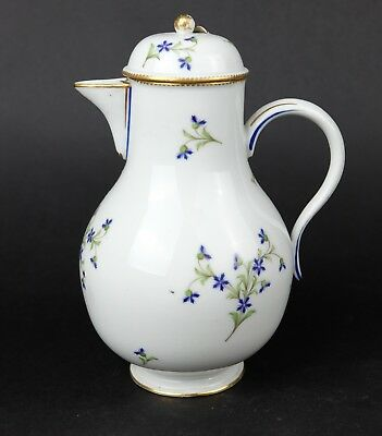 Wonderfull Niderviller Waterjug coffeepot teapot, 18th Century. 1770-1793